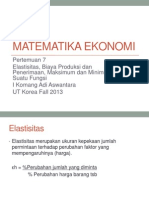 ESPA4122 Matematika Ekonomi Modul 9.ppt