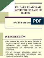 1-Proyecto de Curso-perfil Para Un Proyecto de Bdatos