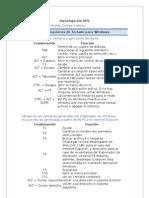 Combinaciones de Windows (Deber 2)
