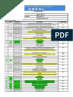 Cronograma Quimica Analitica 2013 2 Uneal