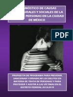 Diagnostico Causas Sociales y Estructurales Trata