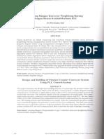 Rancang Bangun Konveyor Penghitung Barang Dengan Sistem Kendali Berbasis Plc