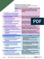 Group 6 UDL Checklist