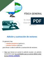 0824 Fisica General Clase 03 Escalares y Vectores