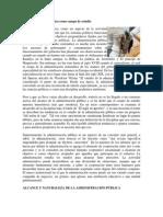 La administración pública como campo de estudio  PARA ACTIVIDAD 4