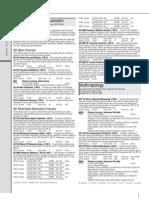 PCC 2009 Summer Schedule