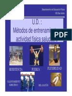 (UD Metodos de entrenamiento y actividad física saludable [Modo de compatibilidad])