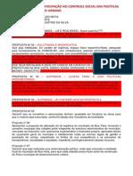 EIXO 01 PARTICIPAÇÃO E CONTROLE SOCIAL NO SNDU