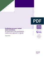 """""""Enfoque de aproximación a la cadena de mercado participativo (PMCA) (Participatory Market Chain Approach)"""""""