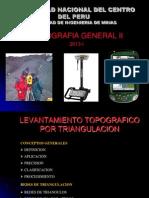 Levant. Topog. por Triangulación 1