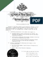 Proclamations July 2-6