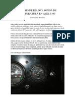 Cambio de Reloj y Sonda de Temperatura en Azel 1100