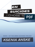 I Chose to Die (Siren Suicides, Book 1)