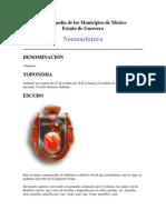 Enciclopedia de los Municipios de México guerrrero
