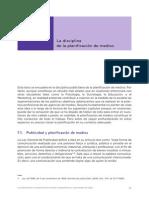 1- La Disciplina de Planificacion Medios