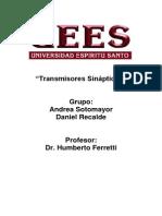 Trabajo Transmisores Sinapticos-1