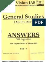 Upsc Prelims 2007