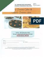 Kursus Choc Cheese Cake & Qaseh Cheese Cake