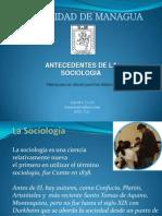 Antecedentes de La Sociologia - Jeanethe