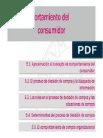 Clase 05 B El Comportamiento Del Consumidor