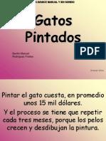 Benito Manuel Rodríguez Freites gatos pintados