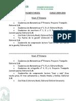 Materiales Complementarios de Primaria Curso 2009-2010