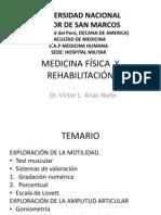 CLASE MEDICINA FÍSICA  Y REHABILITACIÓN 20-07-09 unmsm