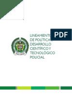 Tomo 5. Lineamiento de Politica 5 Desarrollo Cientifico