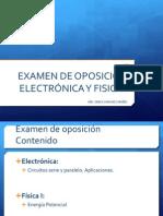 Present Examen Oposicion