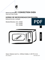 67909 Convection Countertop MIcrowave