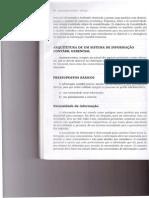 arquitetura de um sistema de informação contabil gerencial