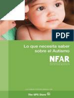 NFAR AutismBrochure Spanish