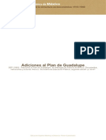 Adiciones Plan Guadalupe
