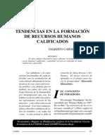 Tendencias de Profesionales en Peru