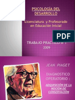 Diagnostico Operatorio Piaget