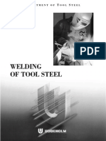 Welding of Tool Steel - Uddeholm (eBook, 17 Pages)