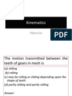 Kinematics Quiz