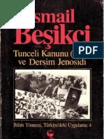 Tunceli Kanunu (1935) ve Dersim Jenosidi- İsmail Beşikçi