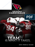 2013 Arizona Cardinals Media Guide