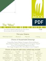MixxMenu