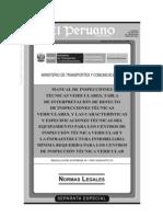 Tabla Revisiones Tecnicas 2009