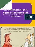 Social Media - La Reputacion