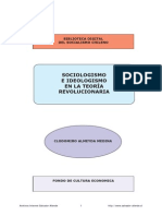 Almeyda Medina - Sociologismo E Ideologismo en La Teoria Revolucionaria