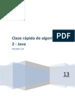 CLASE RÁPIDA DE ALGORITMICA 2
