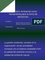 AUDITORIA GESTIÓN AMBIENTAL
