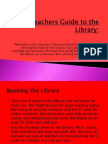 teachers guide to the library