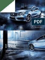 Mercedes Benz A Class Brochure