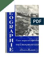 Géographie François-Villin CM-CS 1959