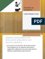 LBD portafolio de evaluación