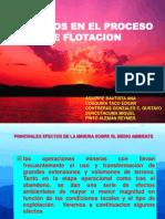 Diapositivas de Residuos de Flotacion